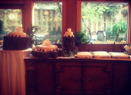 wedding catering and gluten free wedding cakes